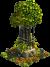 Vaso di fiori ornamentale